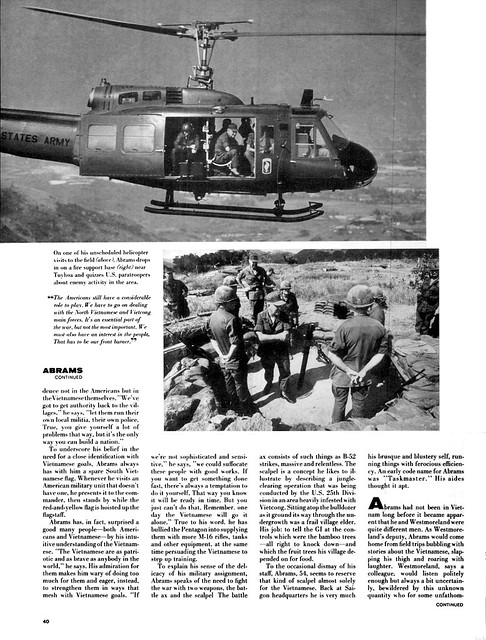 LIFE Magazine April 25, 1969 (2) - GENERAL CREIGHTON ABRAMS