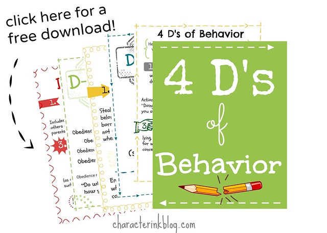 4D's of Behavior -- Free Download!