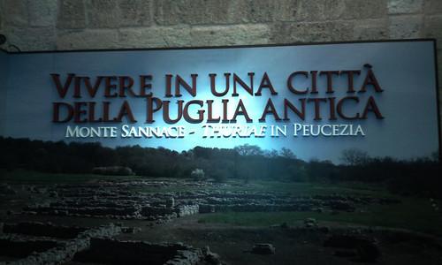Vivere in una città della puglia antica