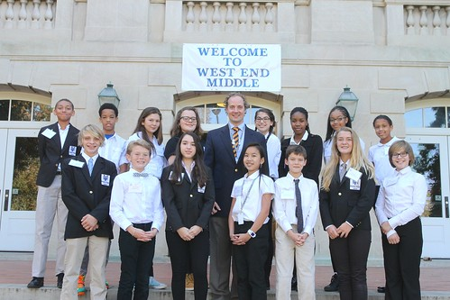 West End Middle School VIP Tour - Oct. 21, 2015