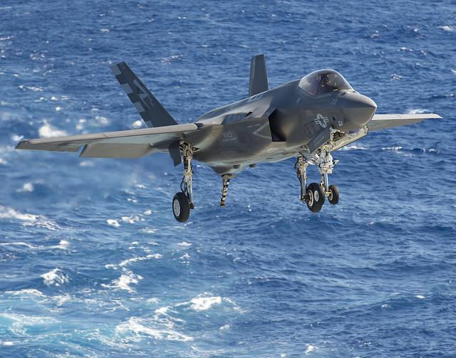 F-35C Sea Trials Aboard USS Eisenhower