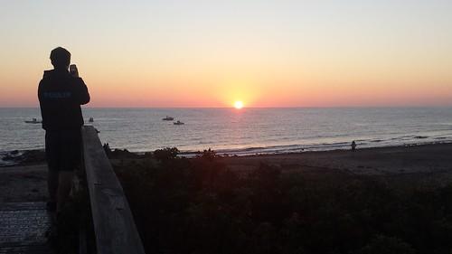 ocean beach sunrise capecod capecodbay sandwichma artblackburn