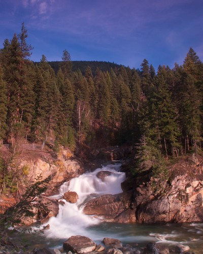 waterfalls shuswap shuswapriver