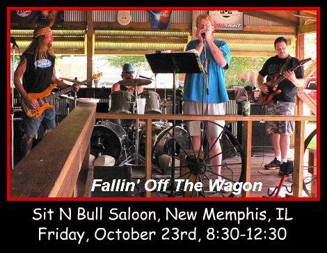 Fallin' Off The Wagon 10-23-15