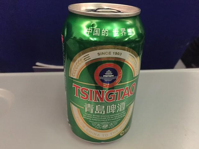 Tsingtao beer - China United Airlines