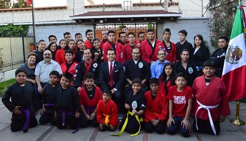 Jovenes mexicanos destacan en justa deportiva internacional de Quetzaltenango