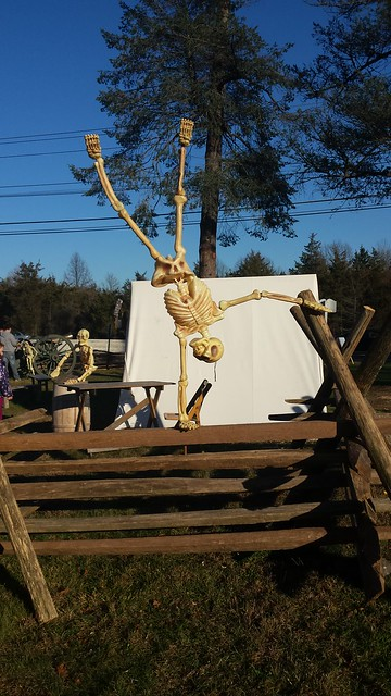 13 Skeletons at a Colonial Encampment