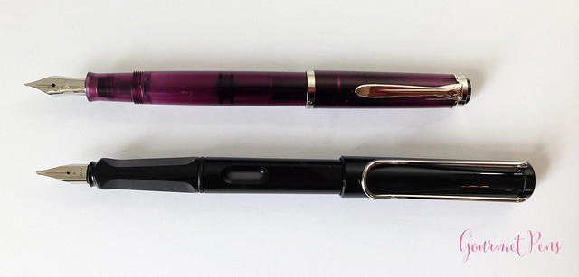 Review Pelikan M205 Classic Amethyst Fountain Pen @AppelboomLaren (5)