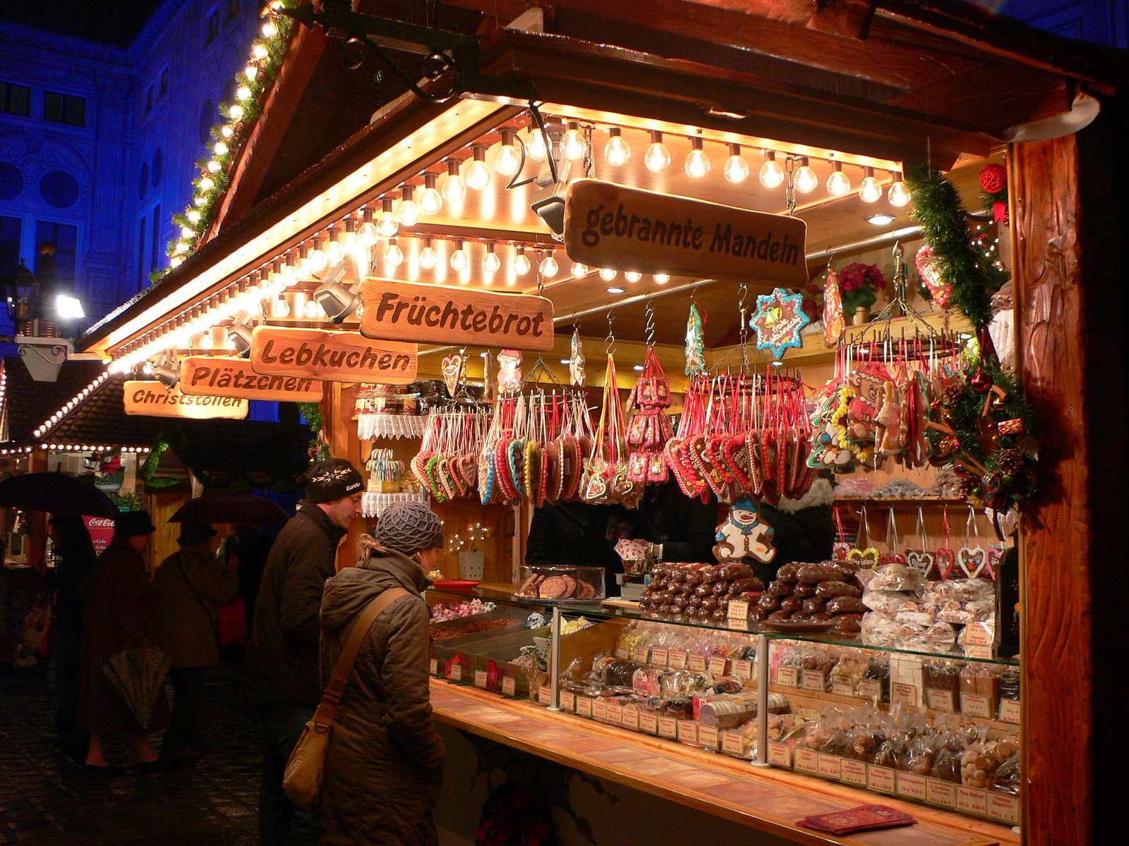 Christmas market in Munich, Germany. Credit Heather Cowper