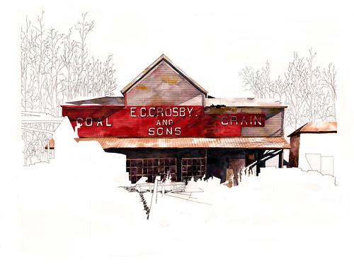 E.C.Crosby & Sons -Coal & Grain - Danby, VT