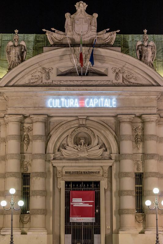 Cultura=Capitale - Culture=Capital - Alfredo Jaar