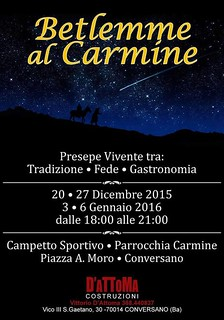 Conversano- Betlemme al Carmine