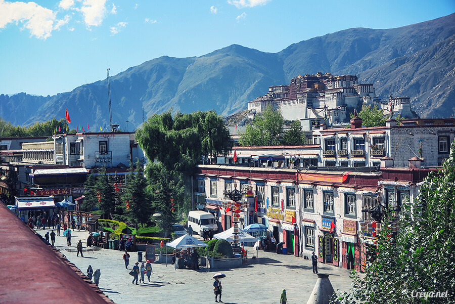 2015.12.09 ▐ Tibet 西藏踢北去 ▐ 尋找藏人真正的拉薩中心,被信仰力量震撼的大昭寺與舊城區 16.jpg