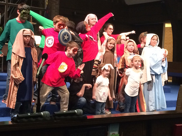 Christmas Pageant Heros 2015