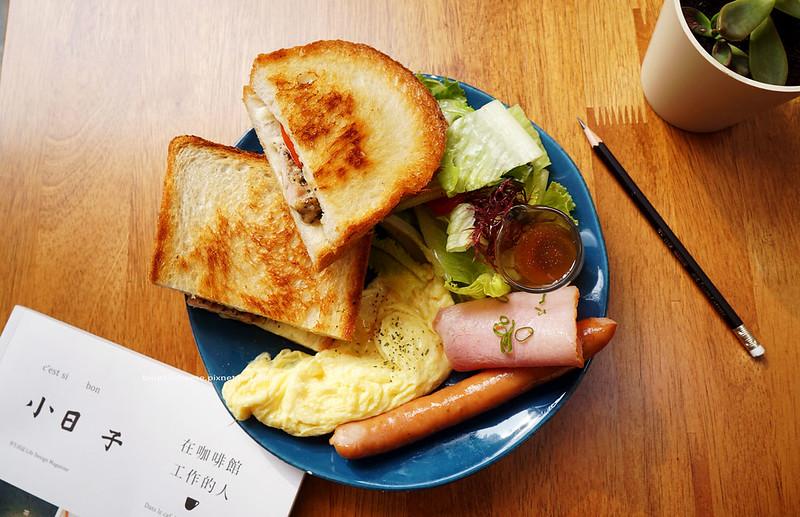 【台中西區】hoyo cafe - 美術館商圈早午餐.咖啡.早午餐.馬鈴薯煎餅.小圓法式吐司.布切塔.沙拉歐姆蛋