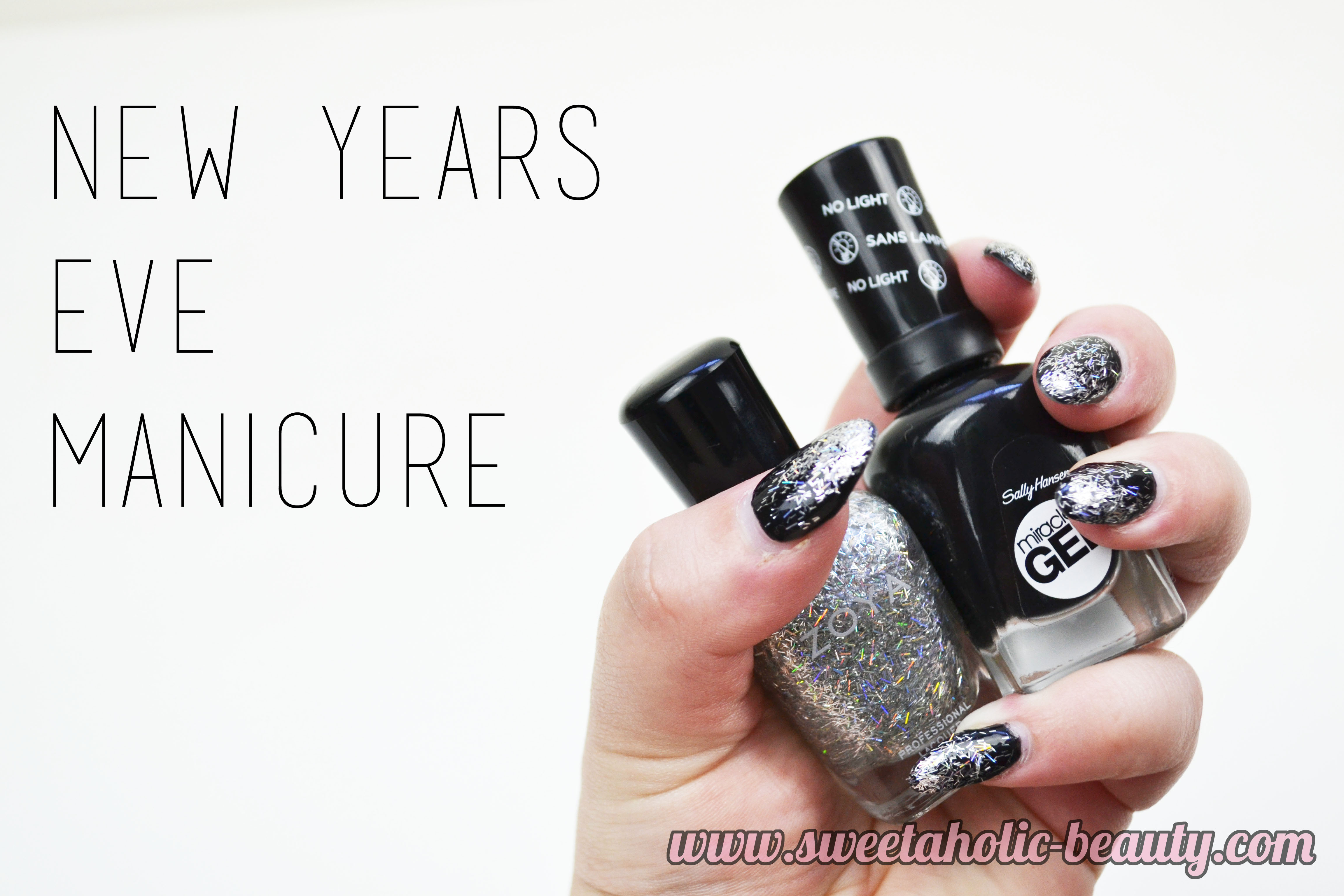 New Years Eve Manicure - Sweetaholic Beauty