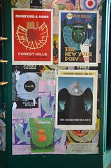 Concert Posters At Forest Hills Stadium