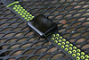 Stainless Steel Space Gray Black Apple Watch with Nike Sport Band