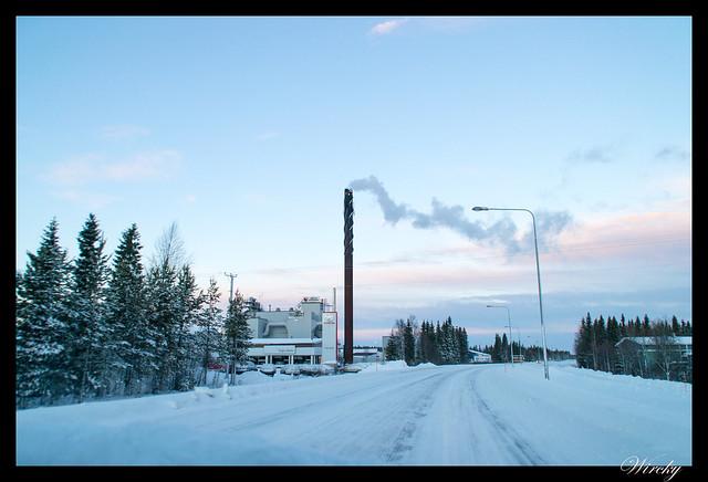 Laponia Tankavaara aurora boreal - Sodankylä