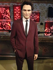 Robert Pattinson figure at Madame Tussauds London