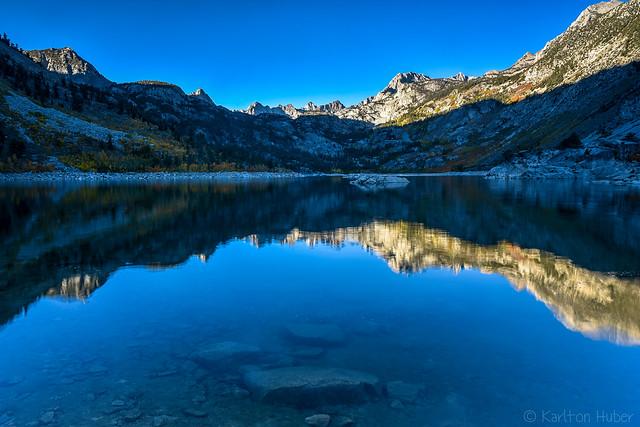 Fall Colors - Lake Sabrina Morning Light