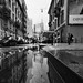 unicredit tower in a puddle by giorgioGH