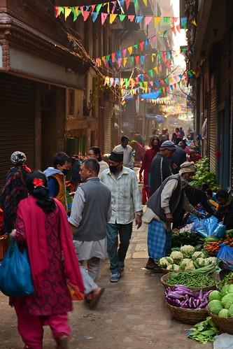 Nepal - Kathmandu - Streetlife - 52