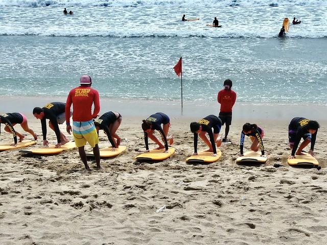 Surf school Kuta beach, Panasonic DMC-FZ18