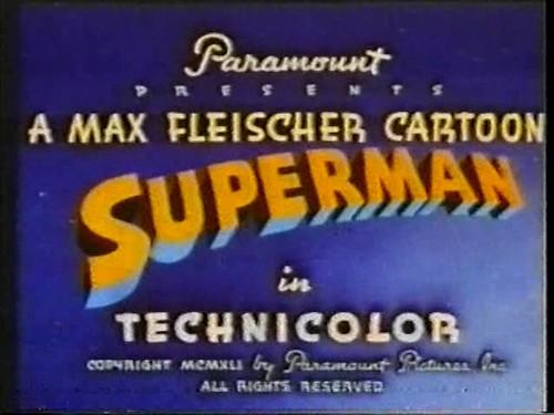 Superman, Max Fleischer's (1941-1942)