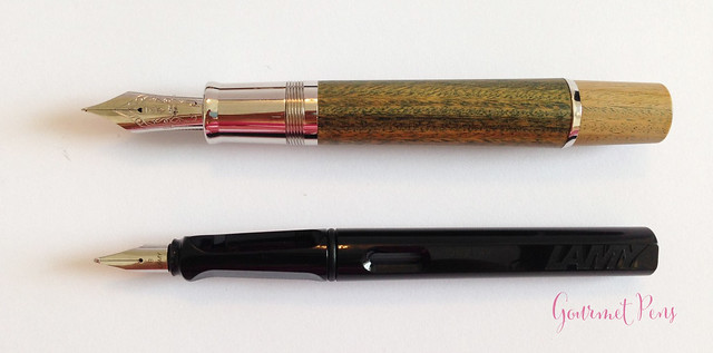 Review Delta Vespucci Encore Argento Wood LE Fountain Pen @ChatterleyLux (4)