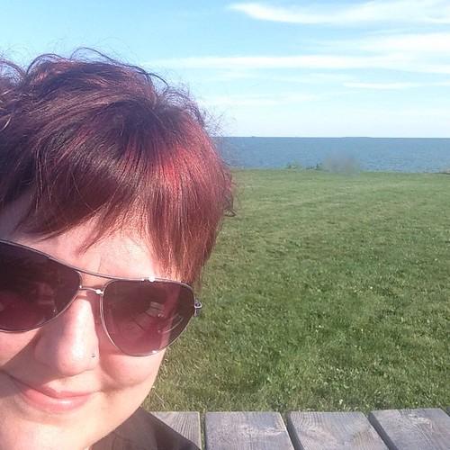 Lake Erie selfie!