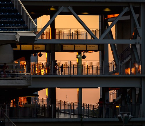 Sunset at Nats Stadium by Geoff Livingston