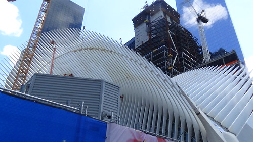 New York WTC Transport Hub Aug 15 2