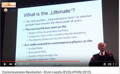 What is the Ultimate - prof. Ervin Laszlo