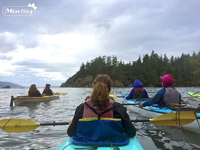 Kayaking at Wildcat Cove