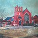 Parkside Methodist Church Outwood Wakefield West Yorkshire New Painting by Captain Wakefield