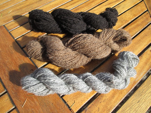 Finished skeins