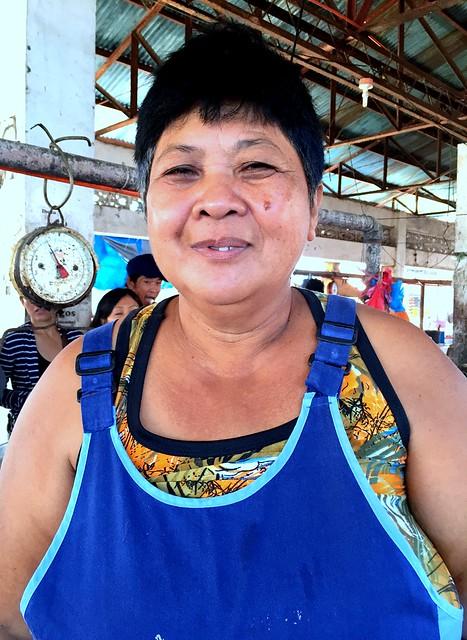Villaba market vendor Myrna Ombajen