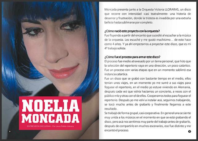 Noelia Moncada en Punto Tango