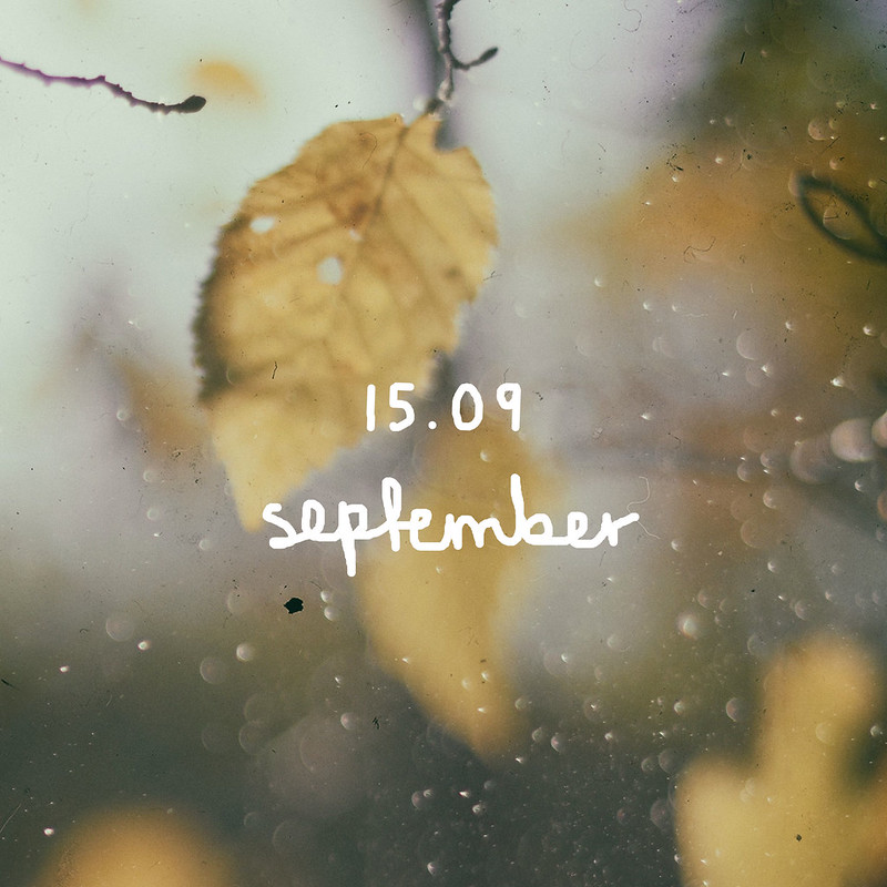 15.09 september