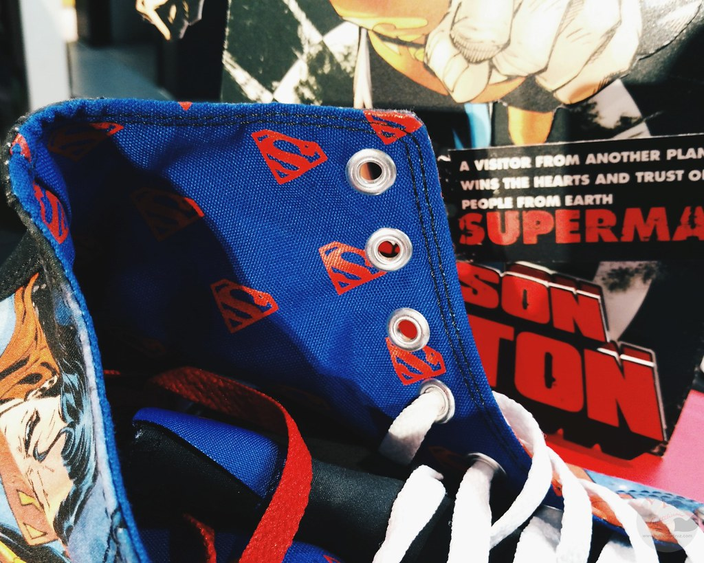 limited edition converse superman