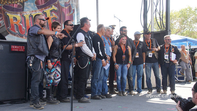 Celebrities support the Harley-Davidson of Glendale Love Ride