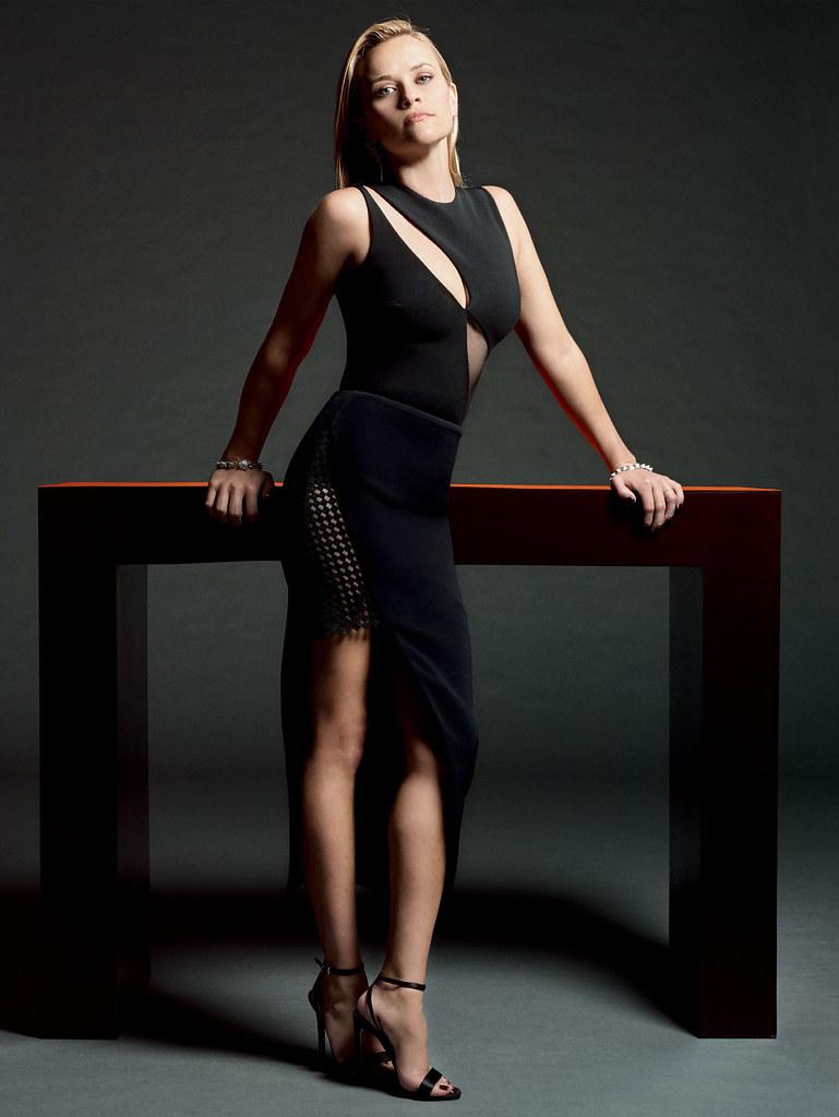 Риз Уизерспун — Фотосессия для «Glamour» 2015 – 2