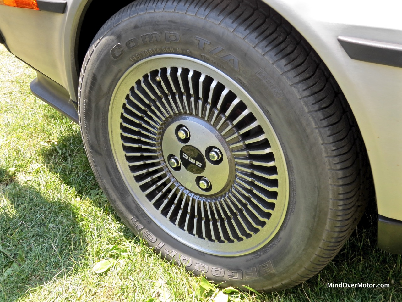 Turbocharged Delorean Wheel
