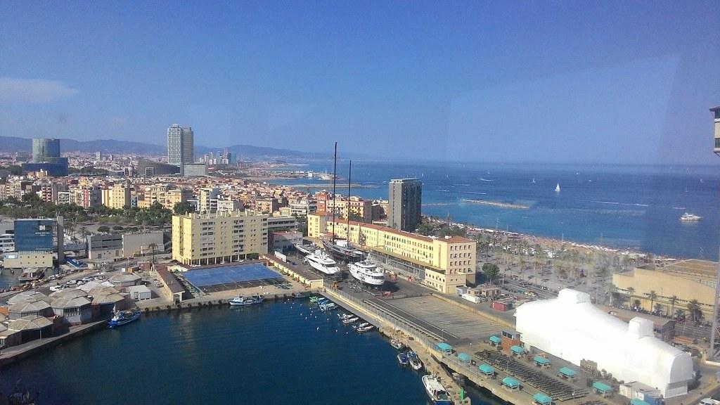 Vista da Aeri del port
