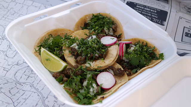 Carne Azada Stak Tacos from Mr Frogs Tacos in Des Moines, Iowa