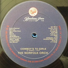 NORFOLK:COWBOY'S TO GIRLS(LABEL SIDE-B)