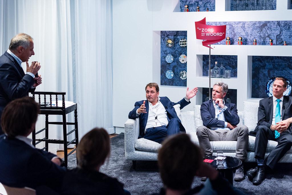 Tafelgast dr. Donald van der Peet is niet bang voor 'online gegevens'