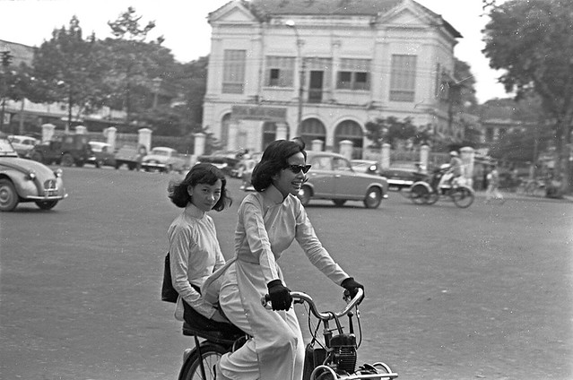 Photos From 1965 Vietnam by Francois Sully / NEWSWEEK: Street scene, Saigon. Oct. 29, 1965