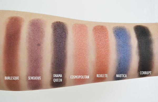 Makeup Geek Eyeshadow Swatches & Review